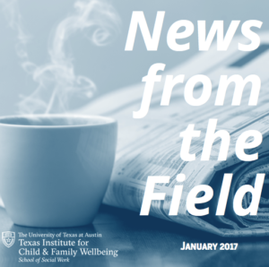 News From The Field: January 2017