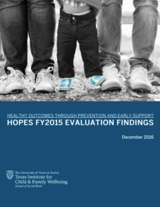 hopes year 1 report cover