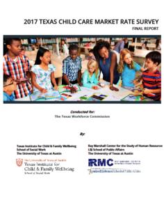 2017 Texas Child Care Market Rate Survey