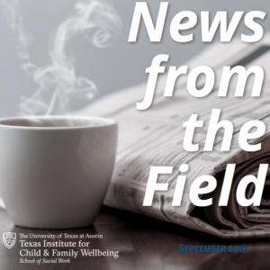 News from the field november
