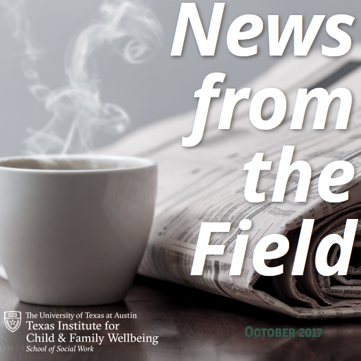 News From The Field, October 2017