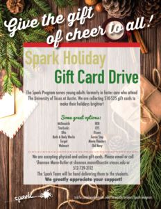 Spark Holiday Drive Flyer
