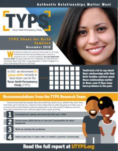 TYPS Sheet Birth Families