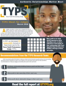 Texas Youth Permanency Study Sheet