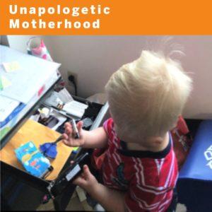 unapologetic motherhood blog