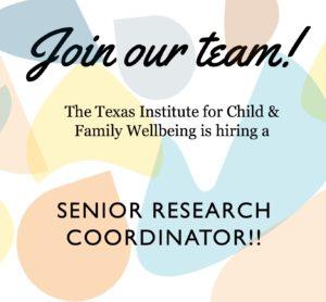 senior senior research coordinator post