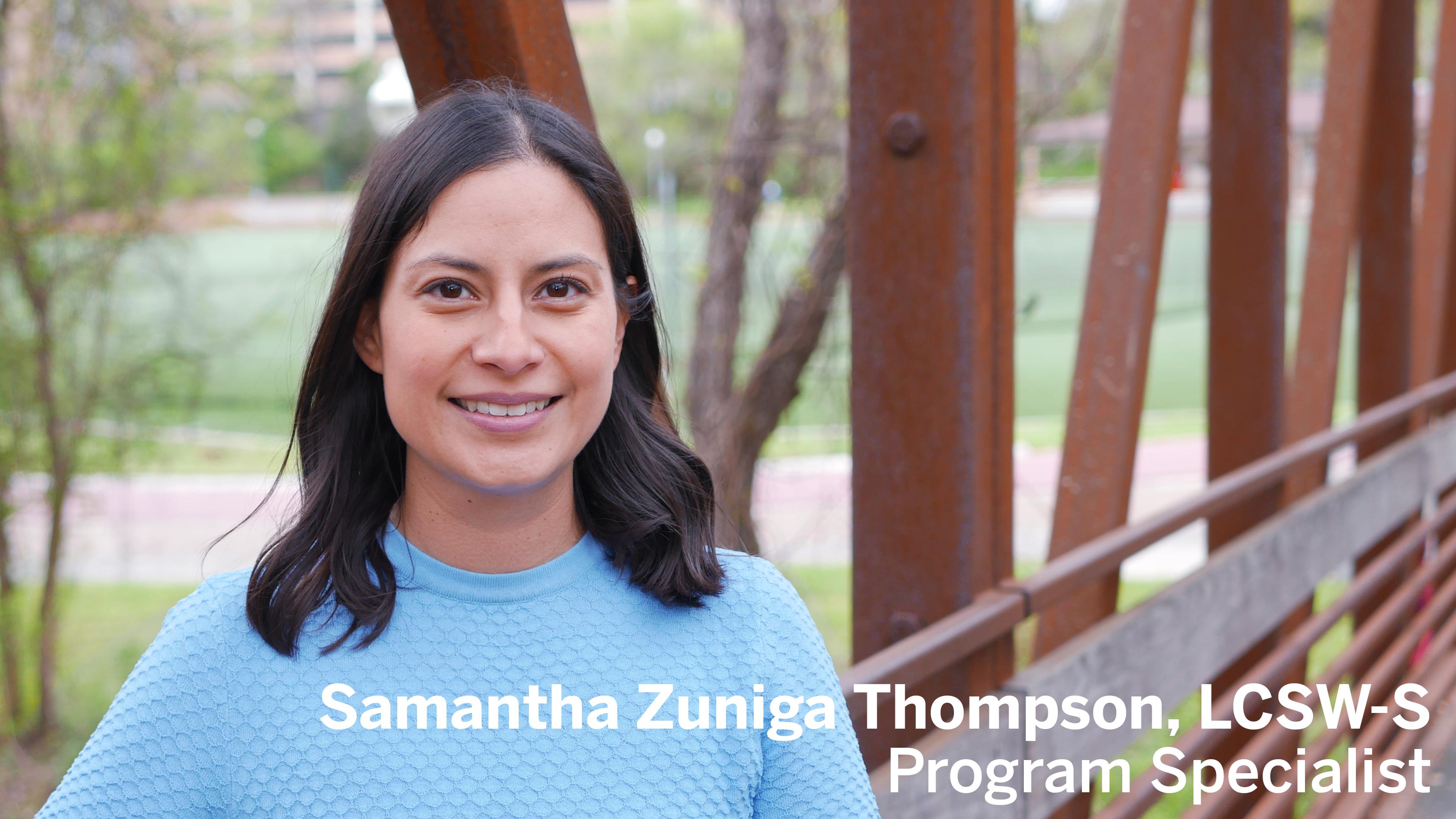 Samantha Zuniga Thompson, LCSW-S