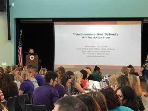 Beth Presenting on Trauma-Sensitivity in Schools