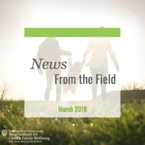 News From The Field: March 2020