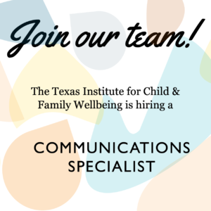 Available Position: Communications Specialist