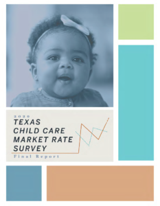 2020 Texas Child Care Market Rate Survey