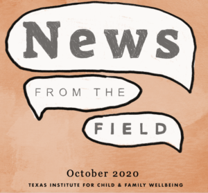 October 2020 News From The Field