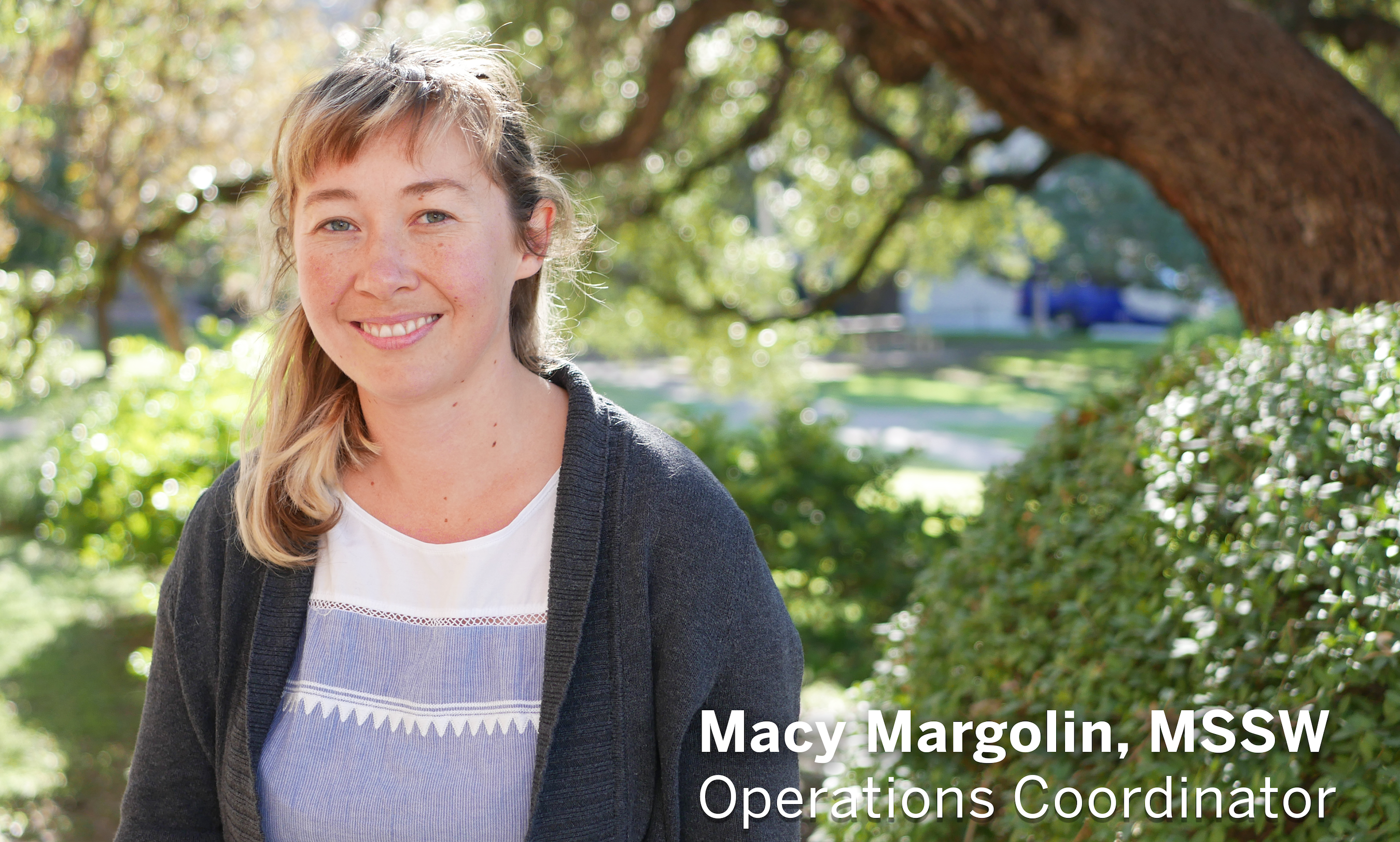 Macy Margolin Banner with Position Title